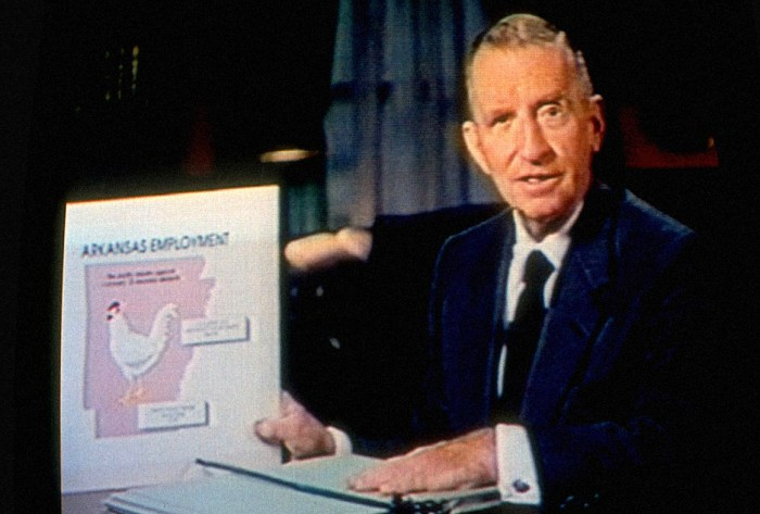 Ross Perot - A man and his charts.