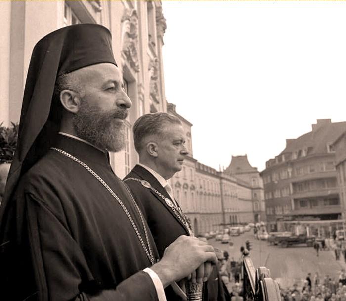 Archbishop Makarios of Cyprus - 1957
