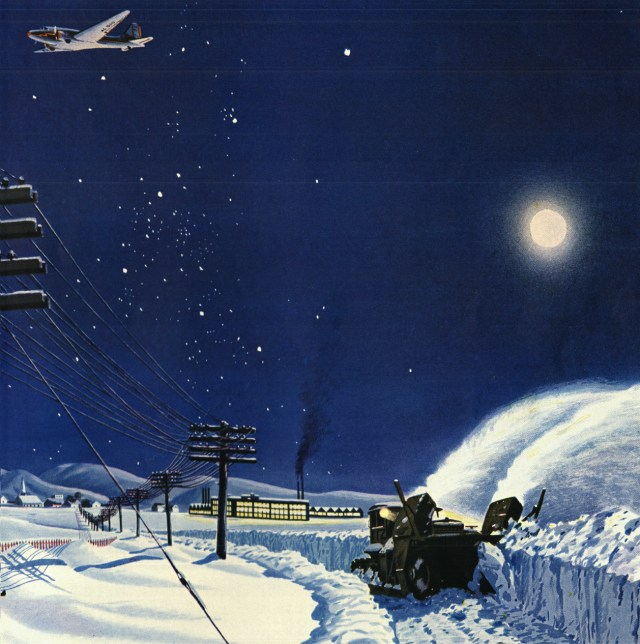 Winter night - Christmas Message