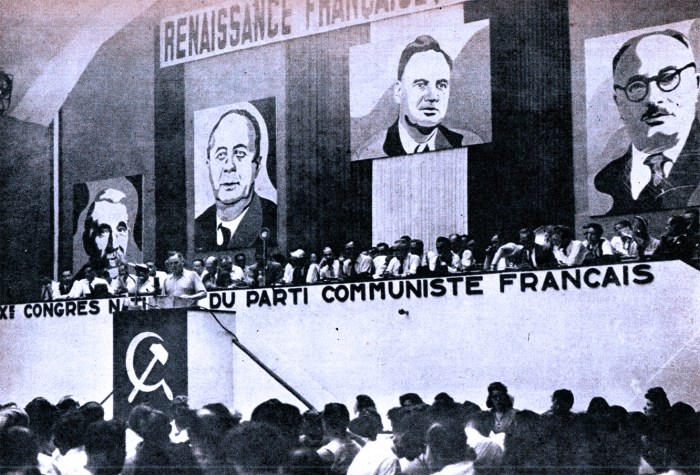 Communist Party Convention in France