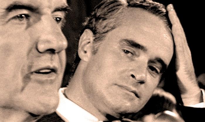 Senator Thomas Eagleton with George McGovern - 1972