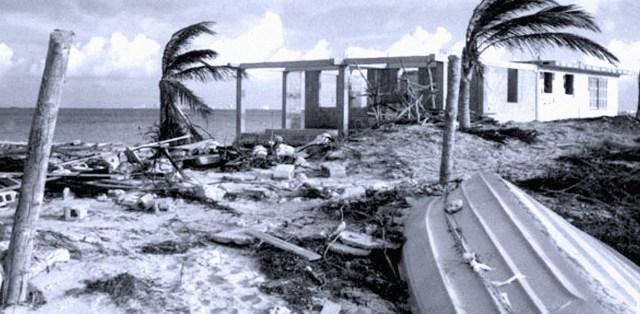 Hurricane Gilbert hits Jamaica
