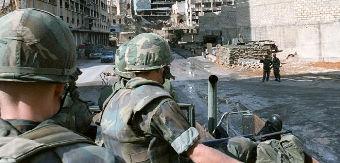 Marines in Beirut - November 1983