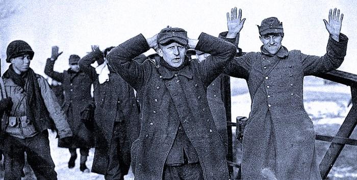 German Prisoners - Bastogne Area