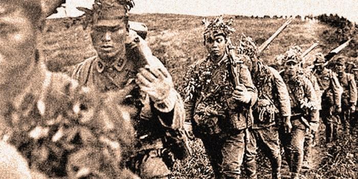 Japanese forces land on Singapore