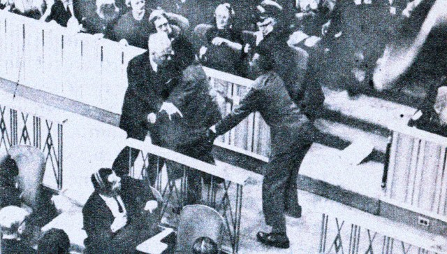 Riot at The UN - February 22, 1961