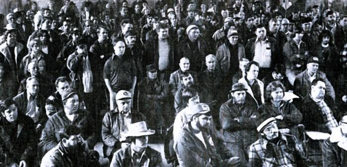 Striking Coal Miners - 1978