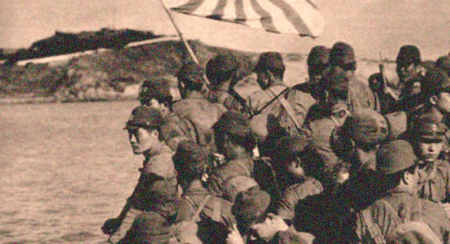 Japanese Army - invading Java