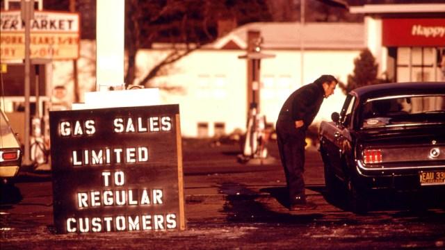 Gas Shortage - 1979