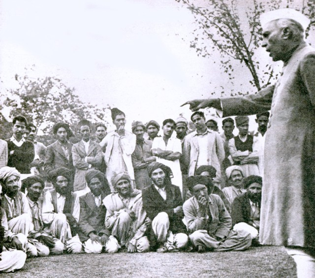 Nehru pitching the issue