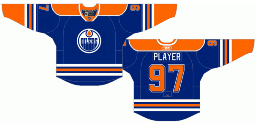 cheaper d371f 7a10d WWYDW: Alternate Edmonton Oilers Jerseys