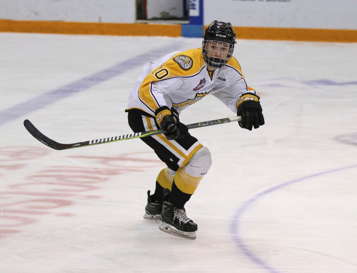 Edmonton Oilers select Jake Chiasson with the 116th overall pick