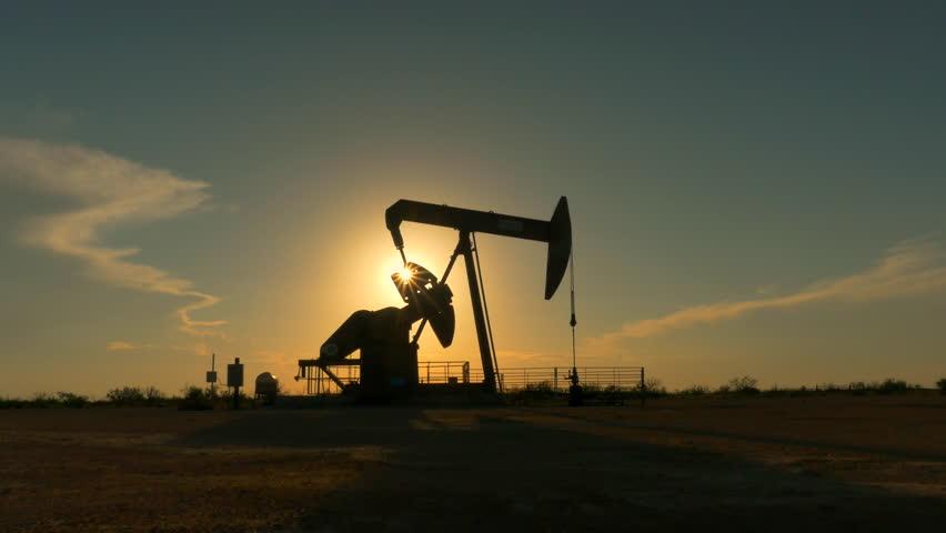 oilfield sunset pump
