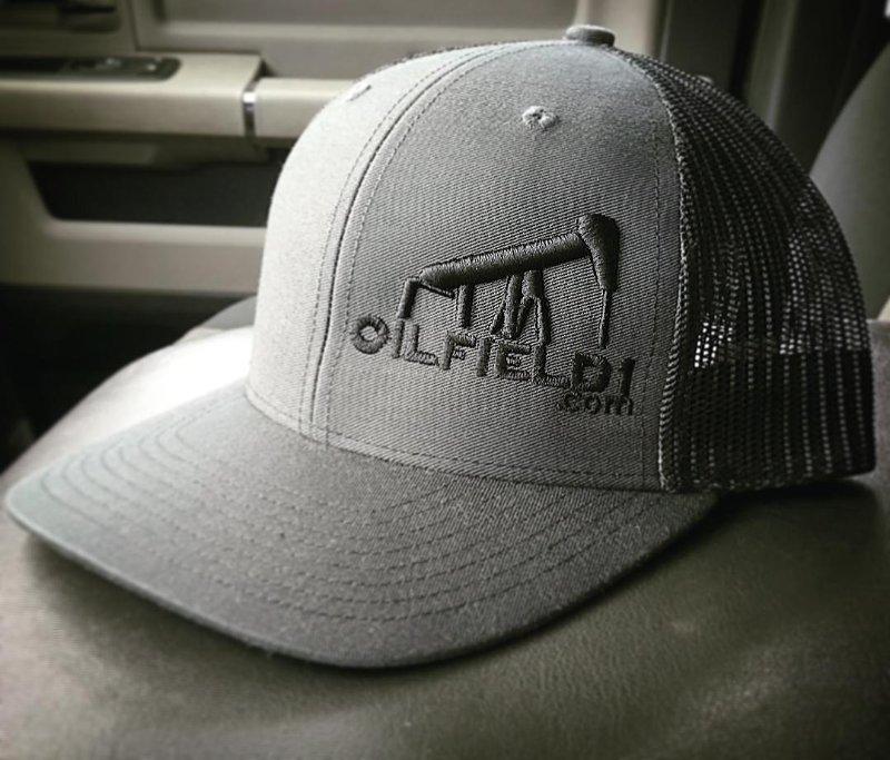 Oilfield1 cap black charcoal