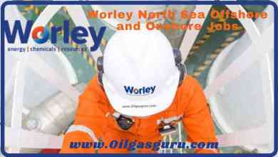 Worley North Sea Offshore and Onshore Jobs