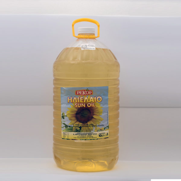 sunflower oil 5lt Recor