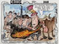 Oilman Cartoon: Gasland 3