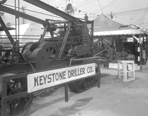 Brand new equipment showcased at the Oil Exposition in Tulsa Oklahoma – early 1920s