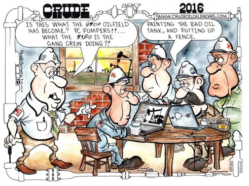 Oilman Cartoon – March/April 2017