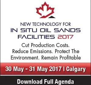 New Technology for In Situ Oil Sands Facilities Conference