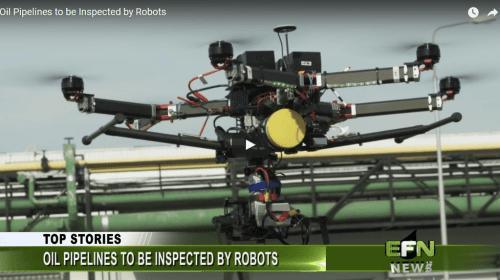 Oil Pipelines to be Inspected by Robots