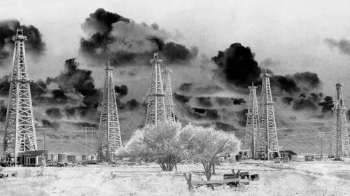 Solarized Effect of the Pierce Junction Oil Field, Houston, TX