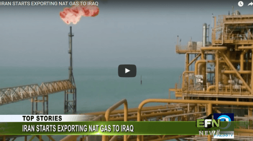Iran Starts Exporting Natural Gas to Iraq
