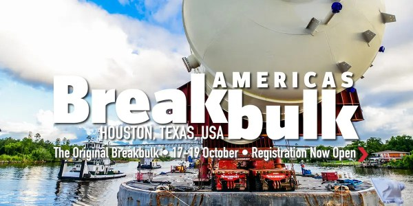 Breakbulk Americas 2017 @ George R. Brown Convention Center | Houston | Texas | United States