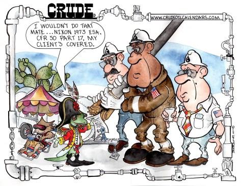 Oilman Cartoon – November/December 2017