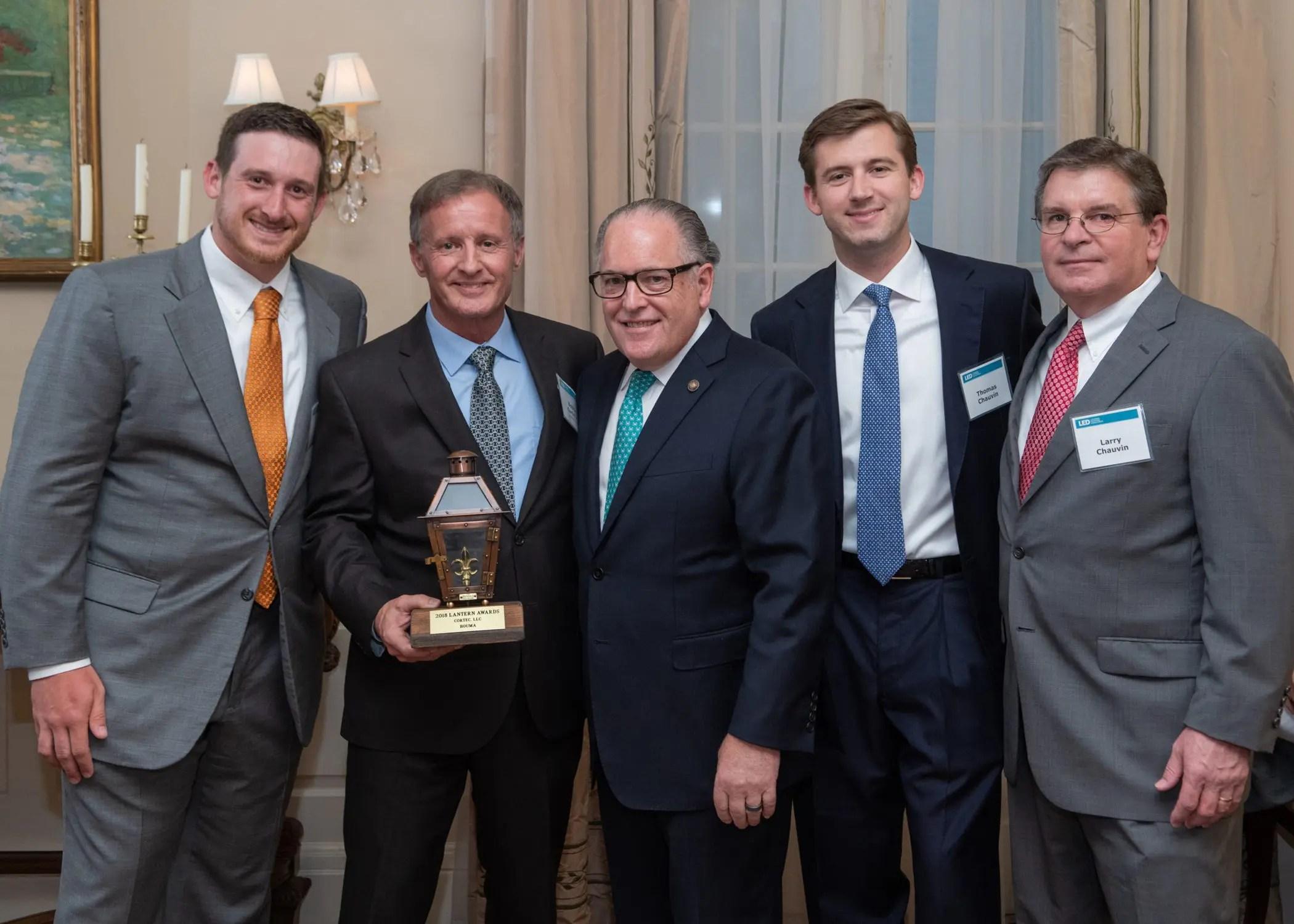CORTEC awarded 2018 Louisiana Lantern Award