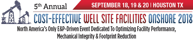 5th Annual Well Site Facilities