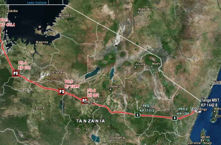 Technical Attributes Of East Africa Crude Oil Pipeline (Tanzania Segment)