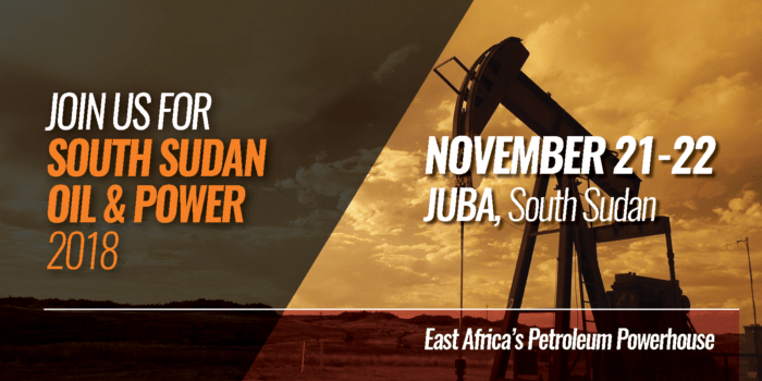 South Sudan Oil & Power 2018 Returns to Juba Next Week