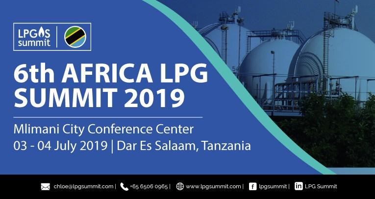 6th African LPG Summit returns to Dar-es Salaam in July 2019