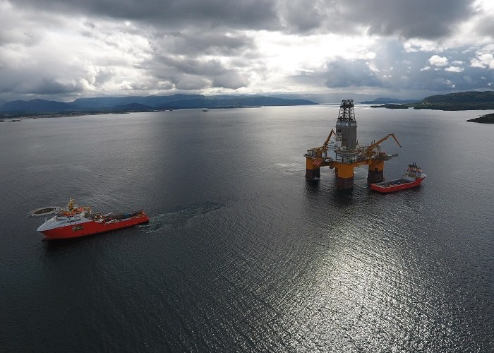 DeepSea Stavanger Drilling Arrives in Cape Town
