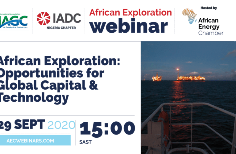 Leading international geophysical and drilling contractors join the African Energy Chamber to discuss African Exploration opportunities