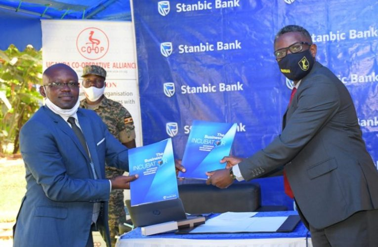 Uganda Cooperative Alliance Signs MOU with Stanbic Bank Incubator