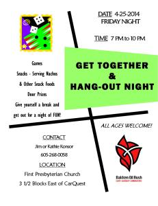 GetTogether&HangOutNight