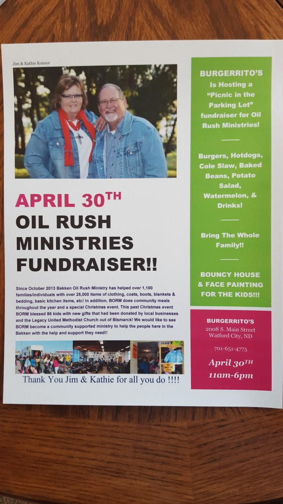 Fundraising Poster