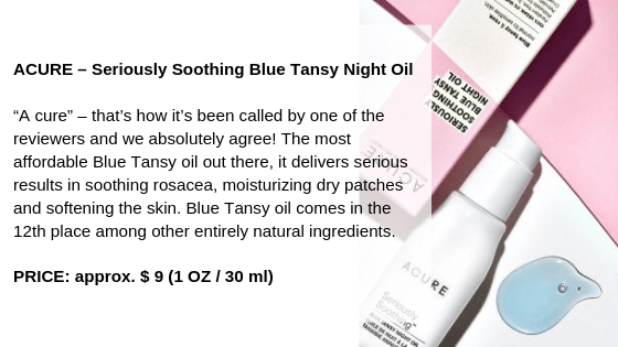 ACURE – Seriously Soothing Blue Tansy Night Oil