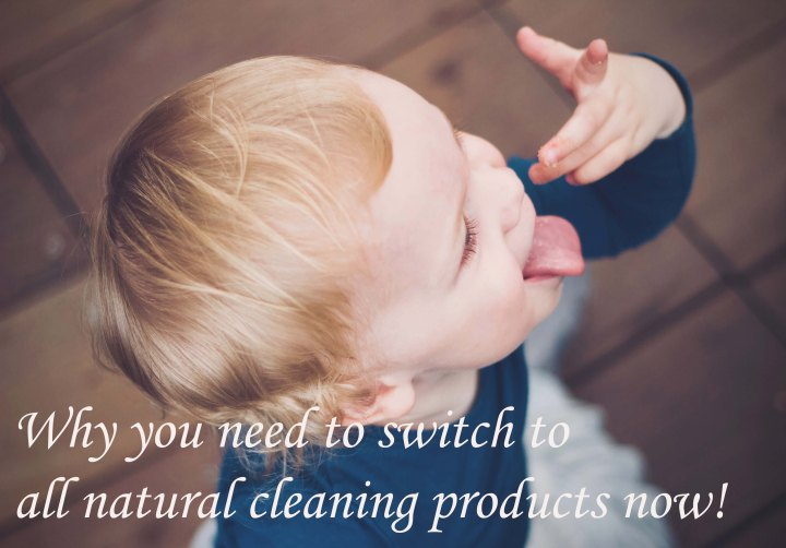 Why you need to switch to all natural cleaning products now!