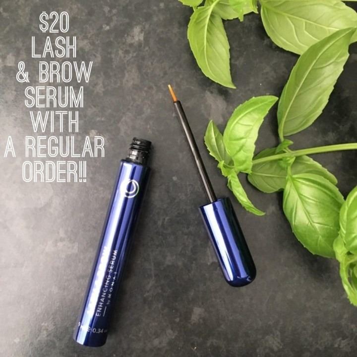 Get thicker, longer eyelashes and eyebrows!