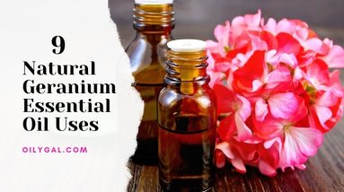 9 Natural Geranium Essential Oil Uses