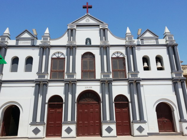 The simple exterior of this church keeps its inner grandeur a secret