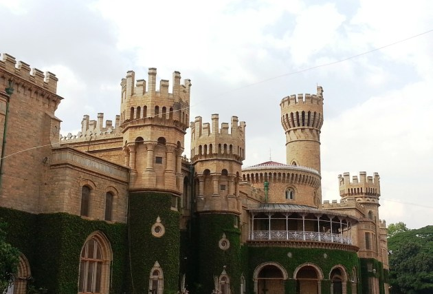The green and glorious Bangalore Palace