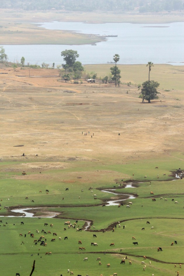 Dadra and Nagar Haveli from the viewpoint inside the Deer Park