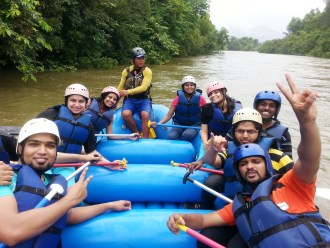 WHITE WATER RAFTING IN KOLAD