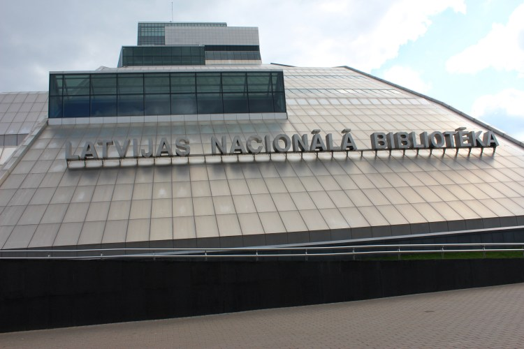 The Latvian National Library