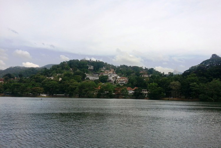 Kandy is crowned by hills