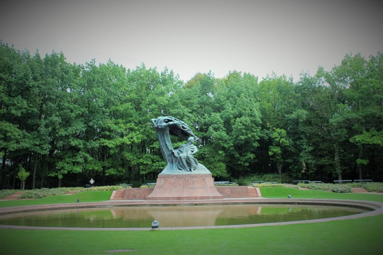 Chopin is omnipresent in Warsaw